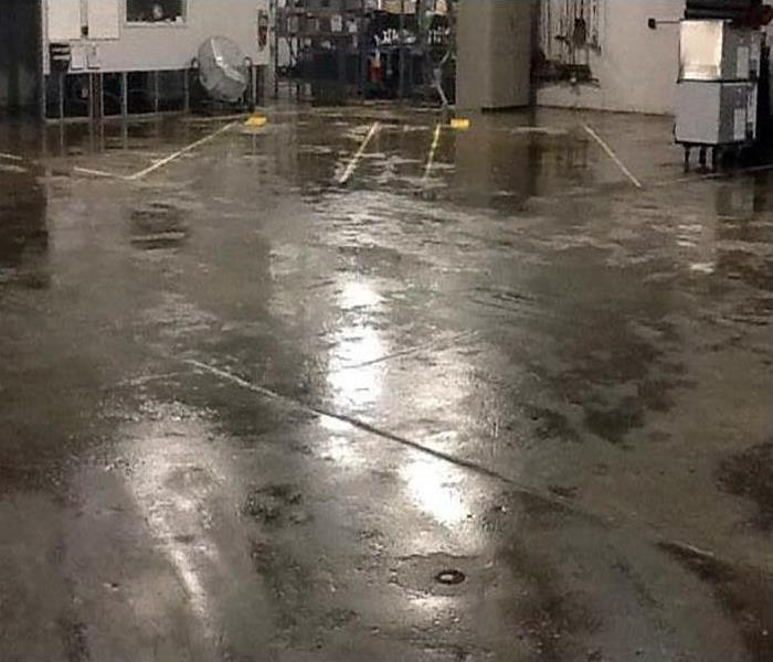 Commercial Water Damage Restoration In Syosset Before