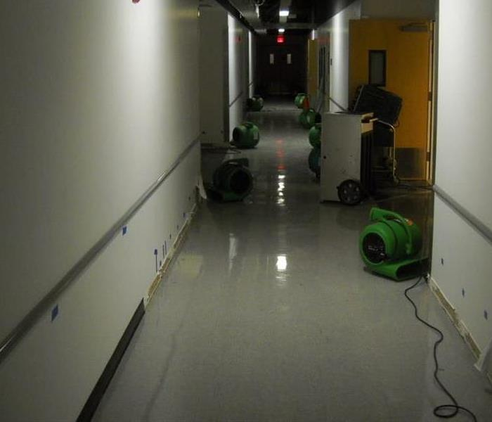 Water Damage Dealing with a commercial water damage in Hicksville/Plainview